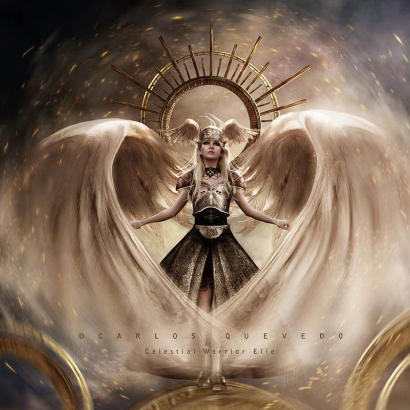 Carlos_Quevedo-Celestial_Warrior_Elle
