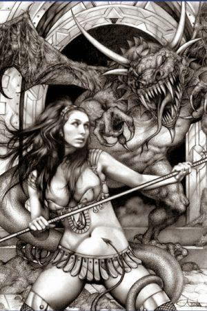 Warriors / Pirates | Art by Arantza Sestayo