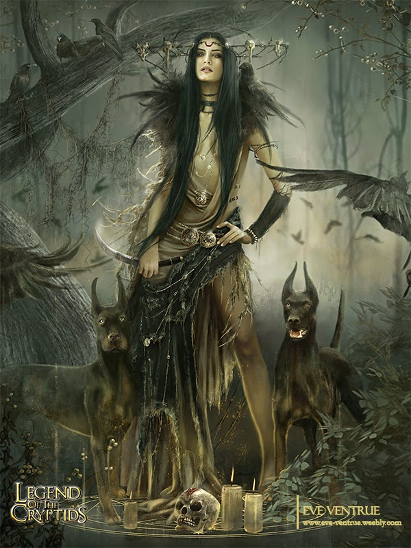 Dark Witch by Eve Ventrue