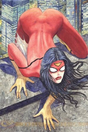 Spider-Woman by Milo Manara