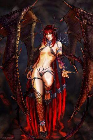 Illustration | Succubus by Fallen Soul (fatalis-sacrist...