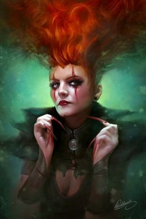 Witches / Wizards | Red Queen by Grzegorz Rutkowski