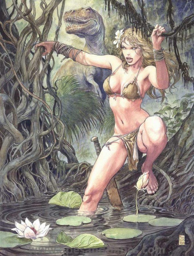 Shanna The She-Devil, Artist Milo Manara