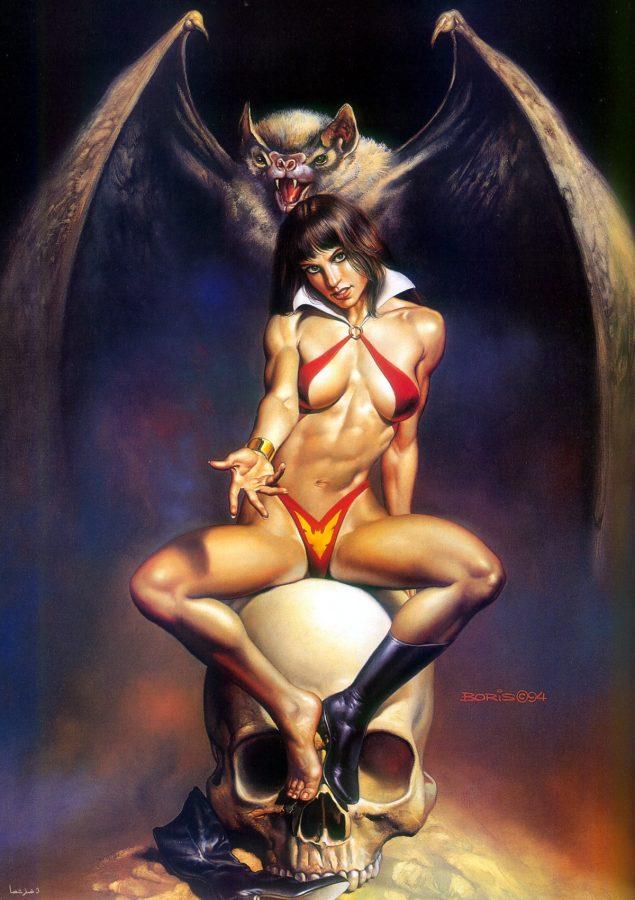 Vampy by  Boris Vallejo