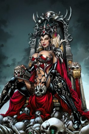 Hero / Villain | Zenescope GFT 86, M. Krome by Ulamosart