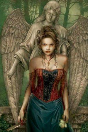 Queen of Ghouls by Cris Ortega