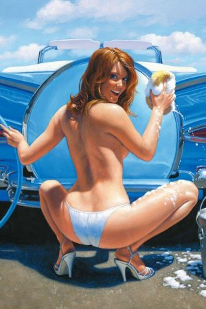 Illustration | Pin Up by Greg Hildebrandt