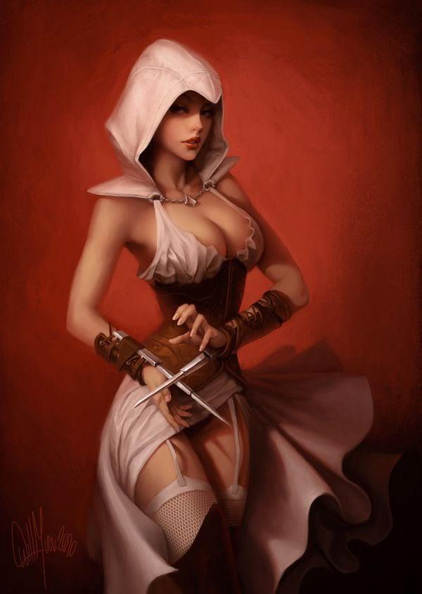 (8955) Assassin's Creed ArtBook by willmurai