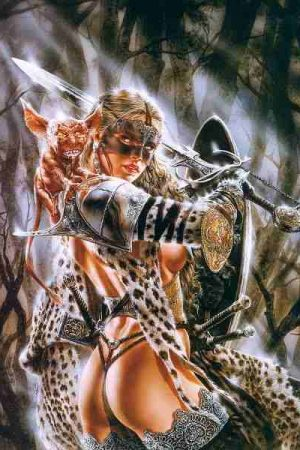 Warriors / Pirates | Artwork by Luis Royo (13)