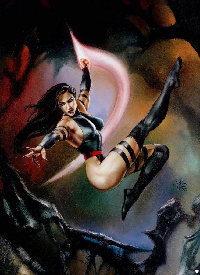 Psylocke by Julie Bell