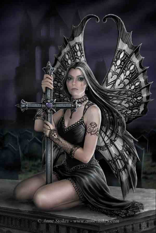 Artwork by Anne Stokes