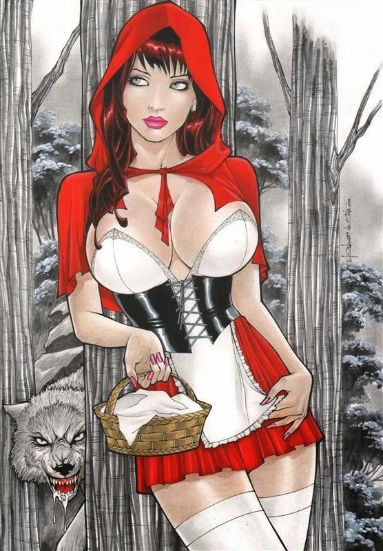Red Riding Hood by Jared Spranza