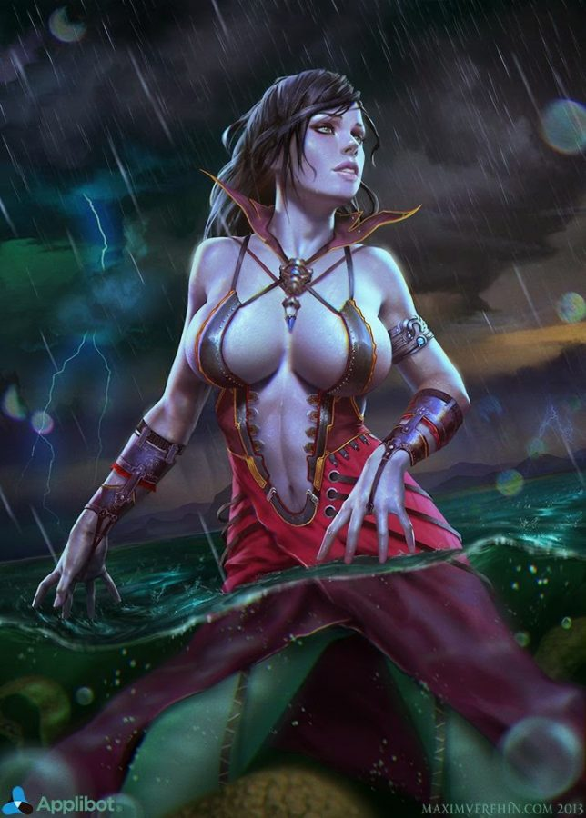 Rain Godess Normal by Verehin