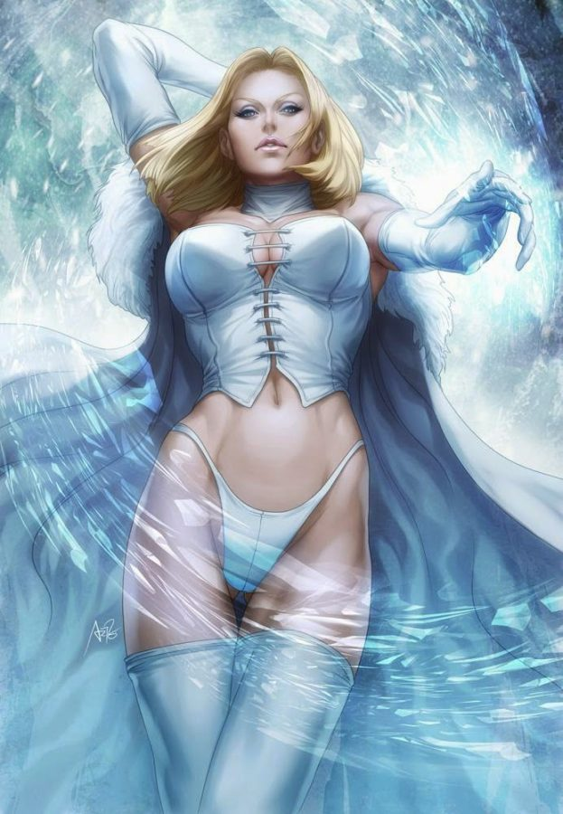 Emma Frost by Stanley Lau