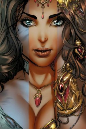 Hero / Villain | J. Scott Campbell (Nei Ruffino) 1