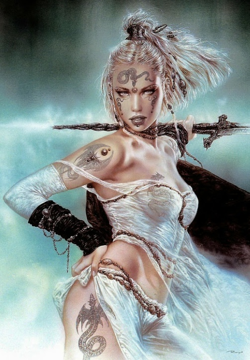 (8113) Artwork by Luis Royo