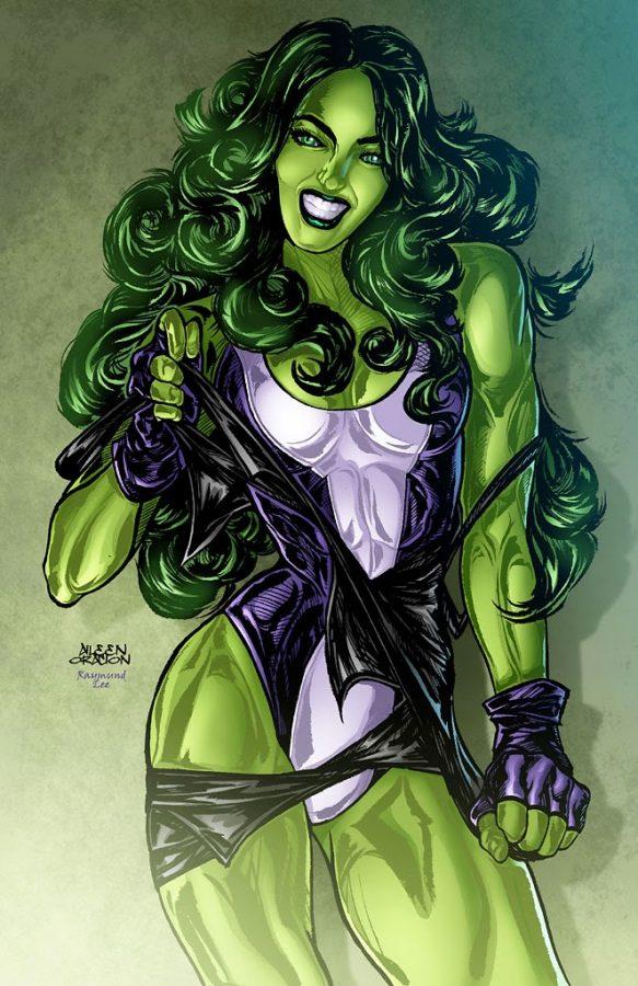 She Hulk Transformation by jarredc99