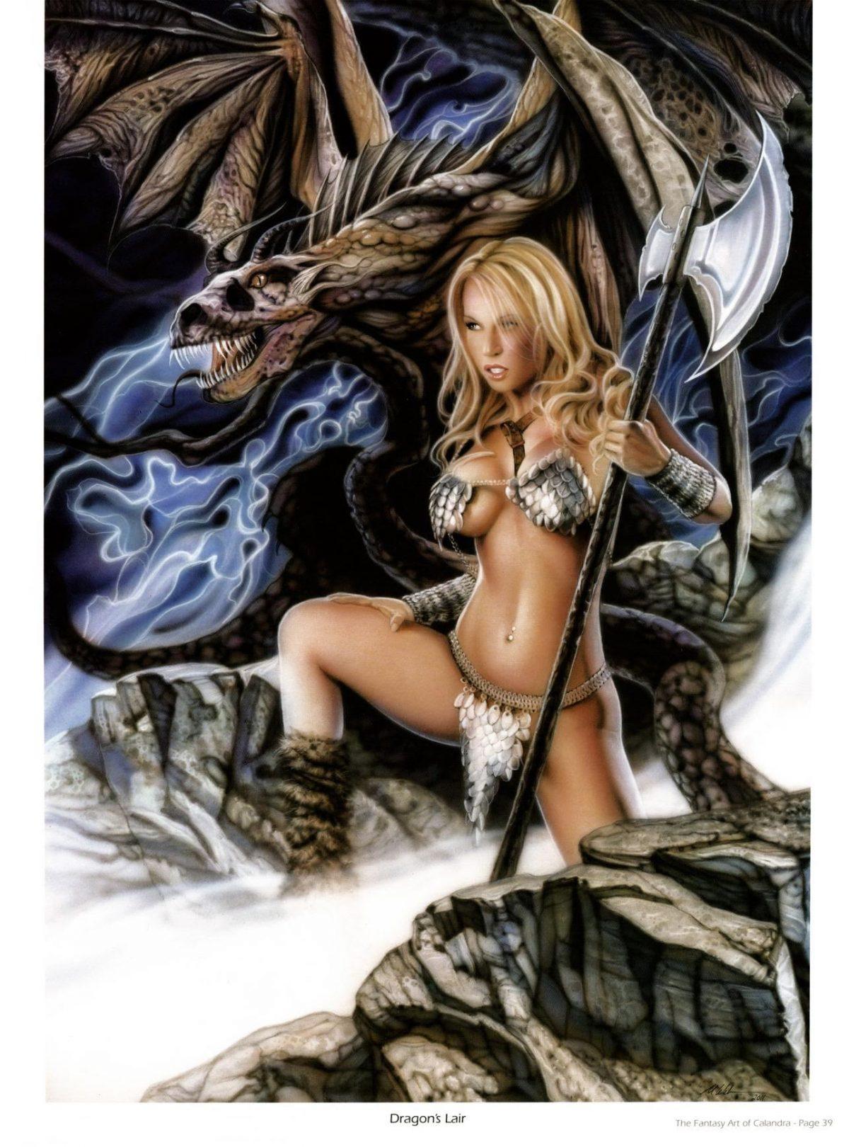 Dragon's Lair by Michael Calandra