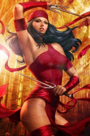 Hero / Villain | Elektra by Stanley Lau (aka Artgerm)