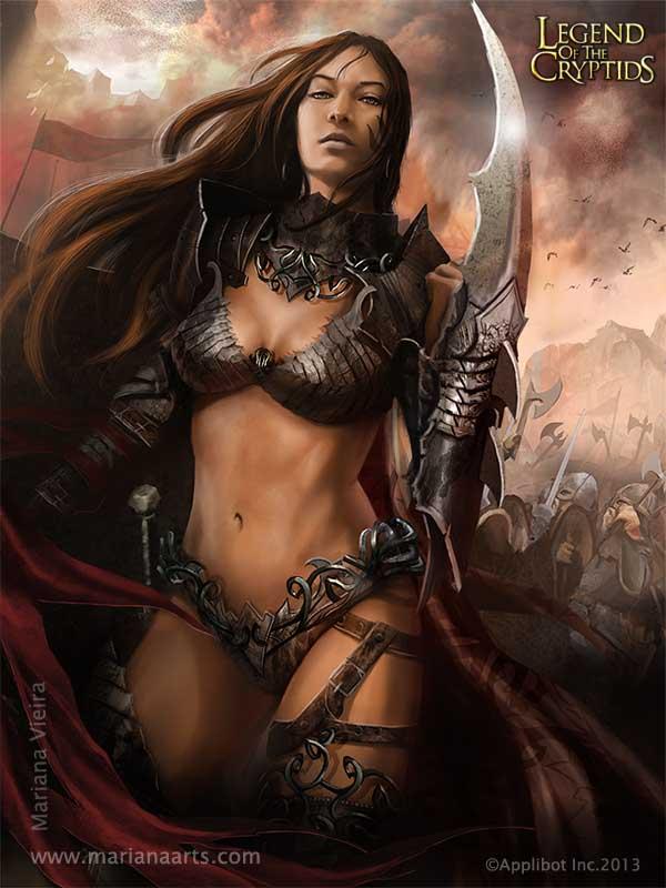 Female Warrior – by Mariana Vieira Peres