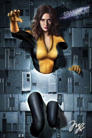 Shadowcat from X-men byM. Lauviah