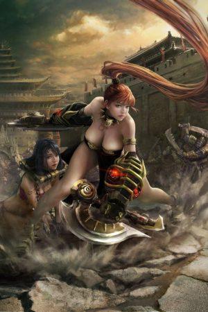 Warriors / Pirates | Leung Shan - Li Kui by Frankiew Yip