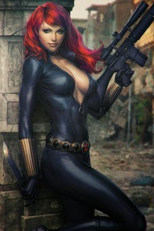 Hero / Villain | Black Widow by Stanley Lau