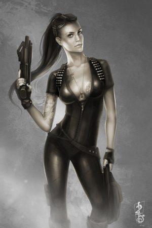 Fantasy Art | Mercenary byd-liliane