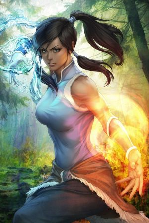 Illustration | Korra by Artgerm