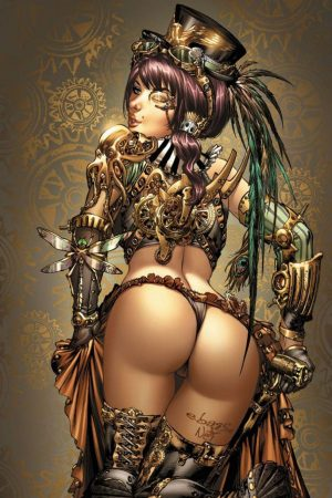Sci-Fi / Steampunk | Steampunk girl by Toolkitten