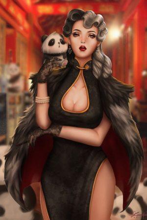 Cruella de Vil by Kunniki Kaitlin Tai