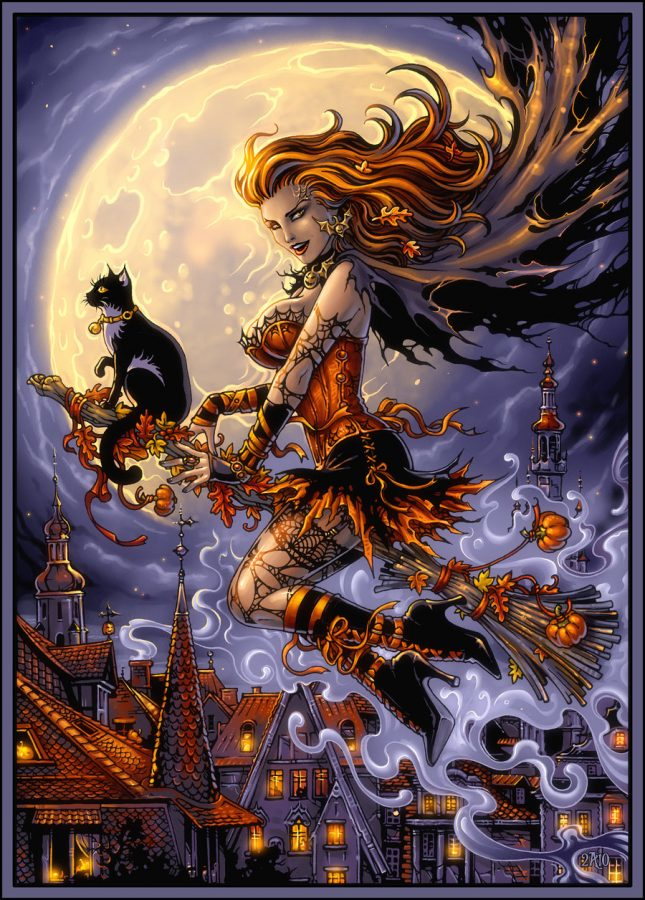 Halloween Night by Candra