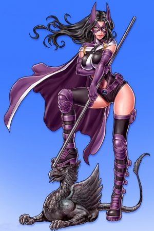 Anime / Manga / Cartoon | Huntress Anime Style by Shunya Yamashita