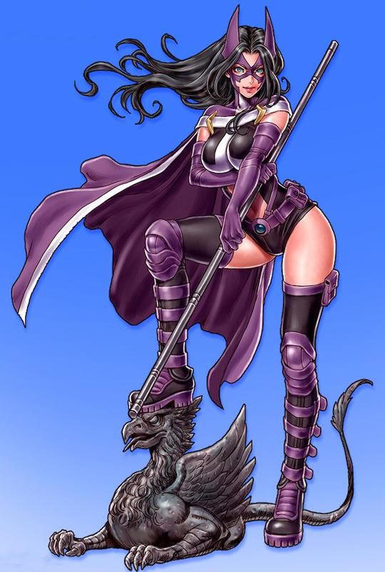 Huntress Anime Style by Shunya Yamashita