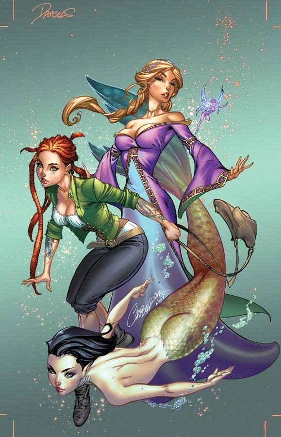 Winners by J. Scott Campbell (Nei Ruffino)