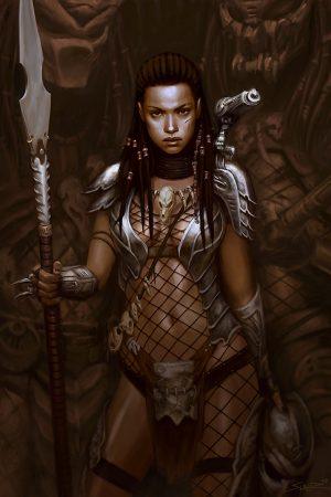 Illustration | She Predator by Wulfsbane