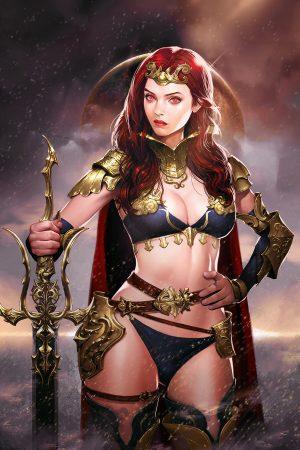 Warriors / Pirates | Warrior Princess by Daehun Park