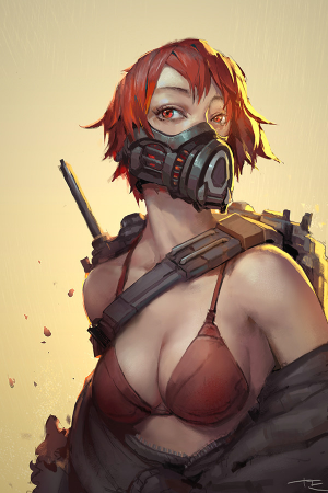 Illustration | Mask By TE Hsieh