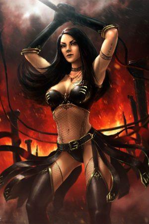 Warriors / Pirates | Ashley warrior by YENIN
