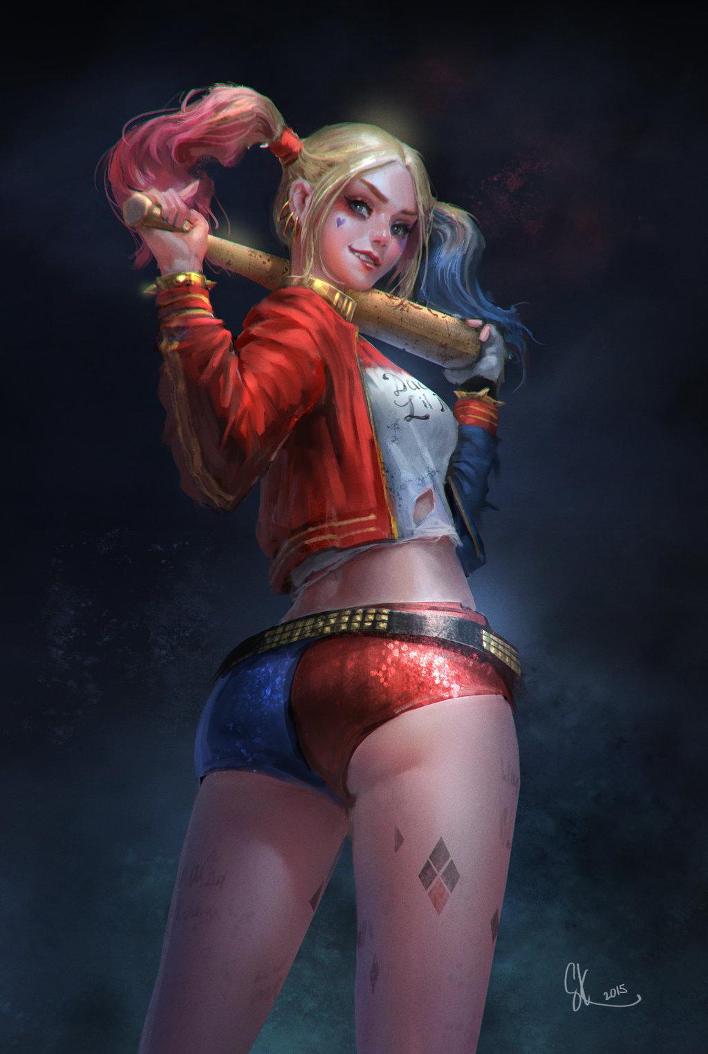 Harley Quinn by © SKtneh