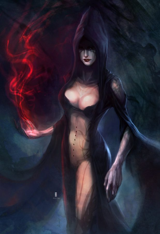 Witch by Ivangod