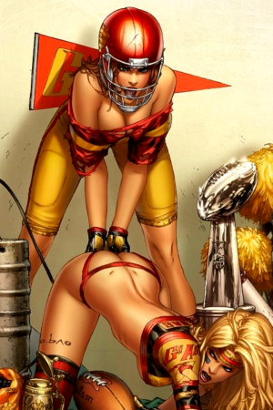 Pin Up Girls | Mojo 1 - Football Girl by Ebas