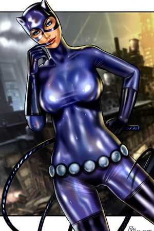 Hero / Villain | Catwoman by Raffaele Marinetti