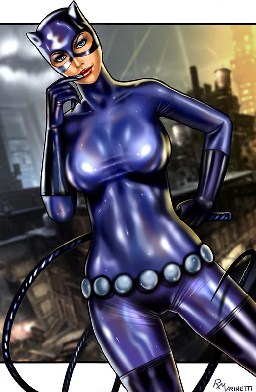 Catwoman by Raffaele Marinetti