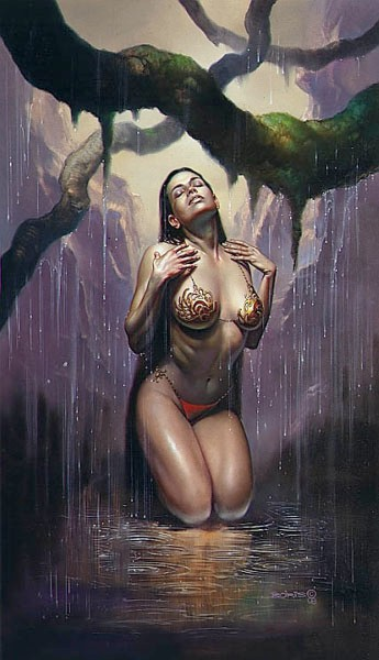 Artwork by Boris Vallejo (2)