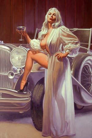 Pin Up Girls | Pinup by Greg Hildebrandt
