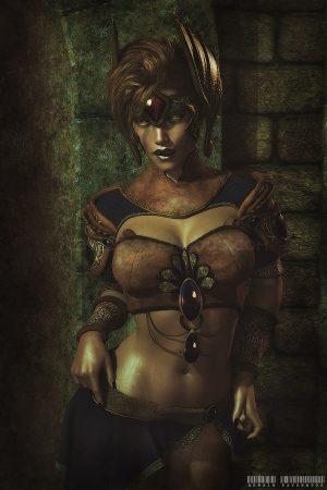 Fantasy Sexy Art | Angela by Nemain Ravenwood