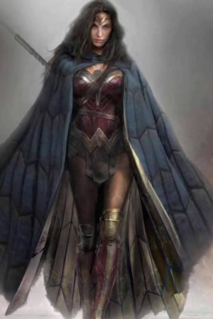 Hero / Villain | Wonder Woman by Eugene Trepanier