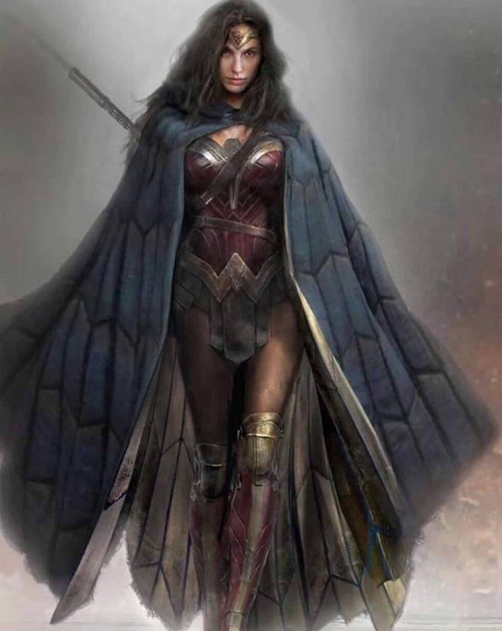 Wonder Woman by Eugene Trepanier