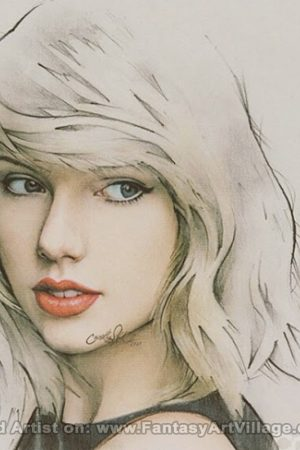 Anindito Wisnu – Taylor Swift Drawing